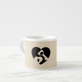 Taza De Espresso La llave a mi corazón