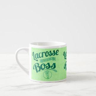 Taza De Espresso LaCrosse como Boss