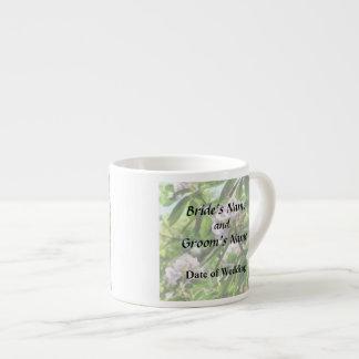 Taza De Espresso Los rododendros están en productos del boda de la