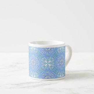 """Taza De Espresso Mandala de la inspiración - """"alegría """""""