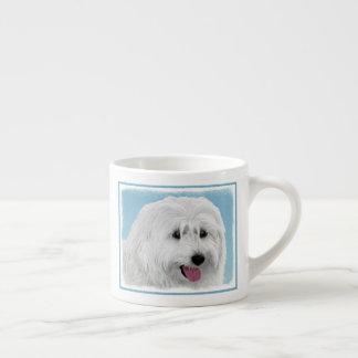 Taza De Espresso Perro pastor polaco de la tierra baja