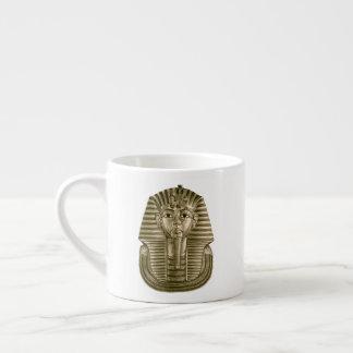 Taza De Espresso Rey de oro Tut Espresso Cup