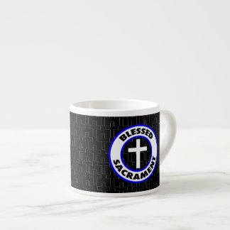 Taza De Espresso Sacramento bendecido