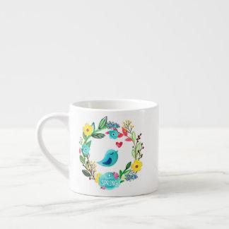 Taza De Espresso ¡Taza del tiempo de primavera!