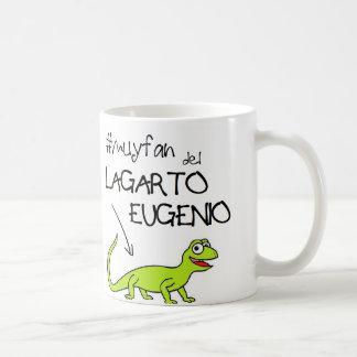 Taza de fan del lagarto eugenio