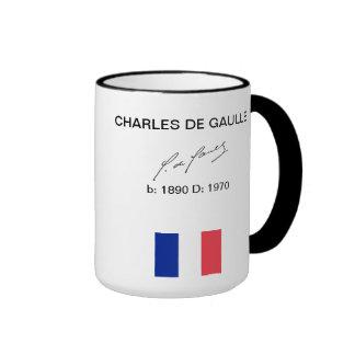 taza de Gaulle Francia