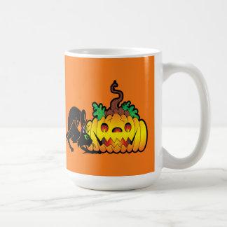 Taza de Halloween de la veintiuna