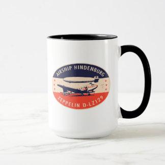 Taza de Hindenburg LZ129 del dirigible del vintage