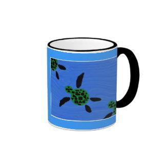 Taza de Honu (tortuga de mar)