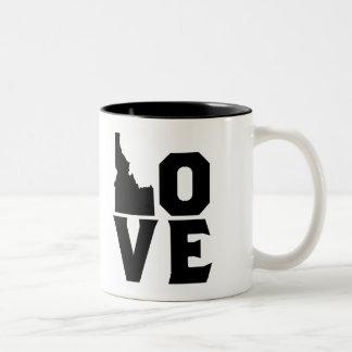 Taza de Idaho del amor