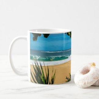 Taza de Kauai de la playa de Ke'e