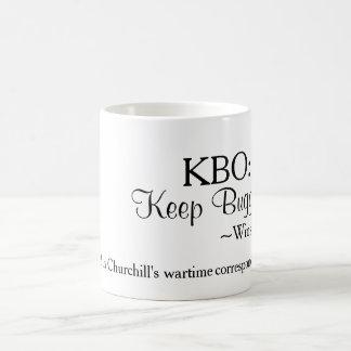 Taza de KBO