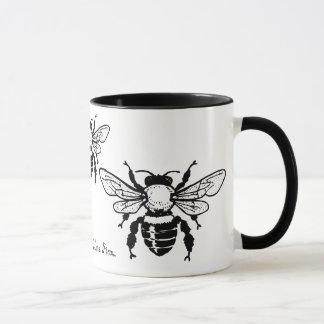 Taza de la abeja de Mellifera de los Apis