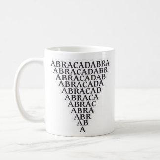 Taza de la abracadabra