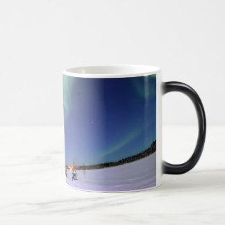 Taza de la aurora boreal