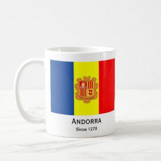 Taza de la bandera de Andorra*