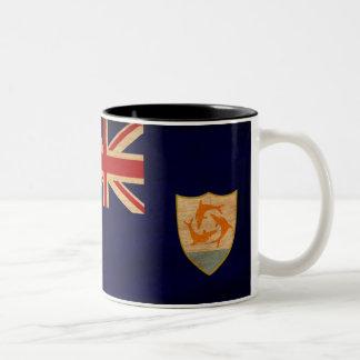 Taza de la bandera de Anguila