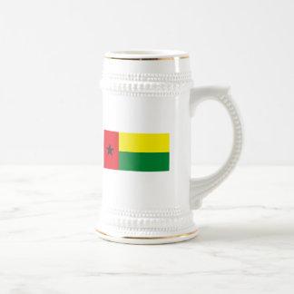 Taza de la bandera de Guinea-Bissau