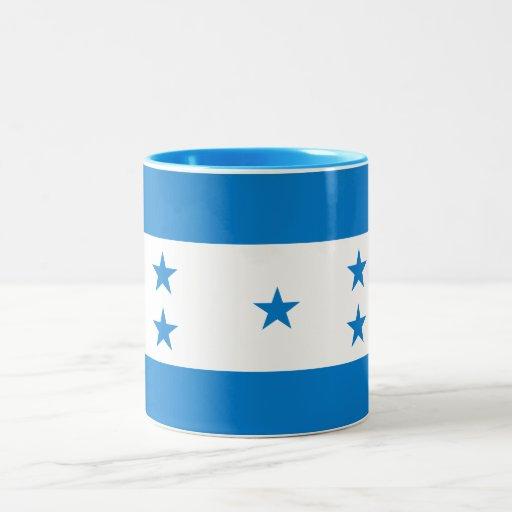 Taza de la bandera de Honduras