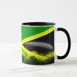 Taza de la bandera de Jamaica
