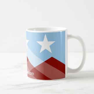 Taza de la bandera de Peoria