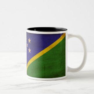 Taza de la bandera de Solomon Island