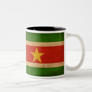 Taza de la bandera de Suriname