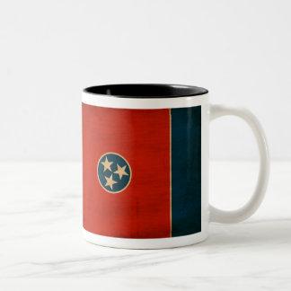 Taza de la bandera de Tennessee