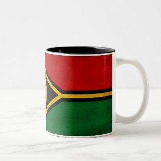 Taza de la bandera de Vanuatu