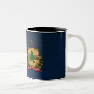 Taza de la bandera de Vermont