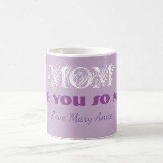 Taza de la bebida del té del café del día de madre