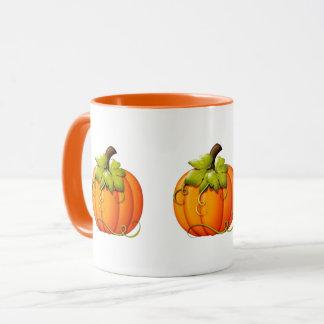 Taza de la calabaza de Halloween/de otoño