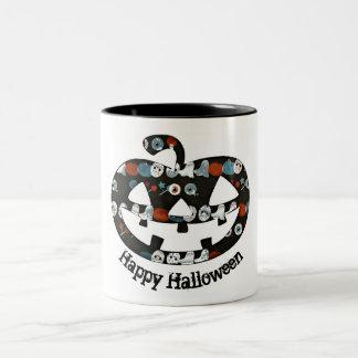 Taza de la calabaza del feliz Halloween