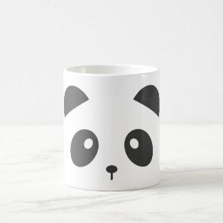 Taza de la cara de la panda