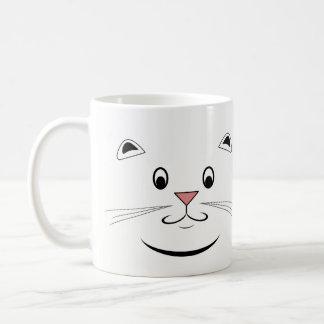 Taza de la cara del gato