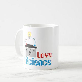 Taza de la ciencia del amor