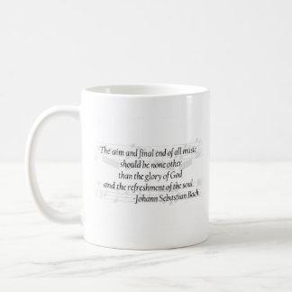 Taza de la cita de Bach