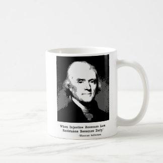 Taza de la cita de Thomas Jefferson