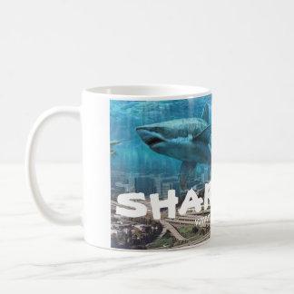 taza de la ciudad del tiburón (San Jose, CA)