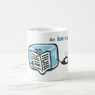 Taza de la cocina - té del cubo de hielo
