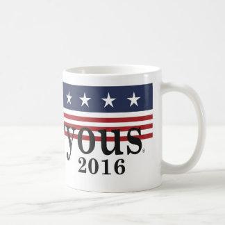 Taza de la elección presidencial 2016