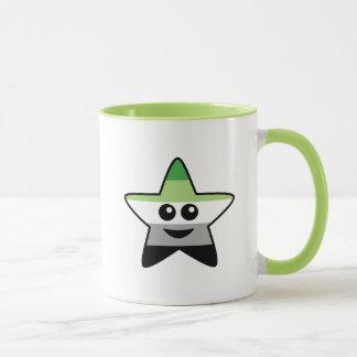 Taza de la estrella de Aromantic