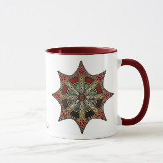 Taza de la estrella del caos de Knotwork