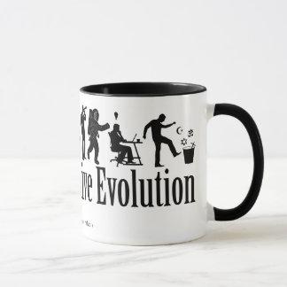 Taza de la evolución de Darwin