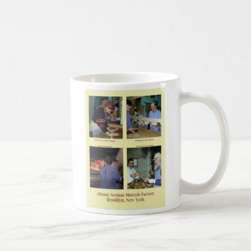 taza de la fábrica del matzoh