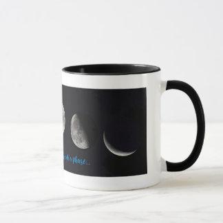 Taza de la fase de la luna