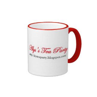 Taza de la fiesta del té de Alys