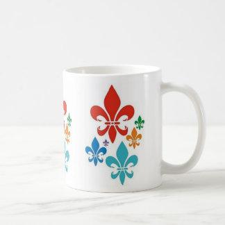 taza de la flor de lis - modificada para requisito