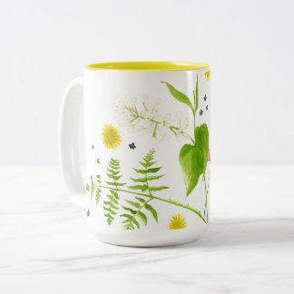 taza de la flor salvaje