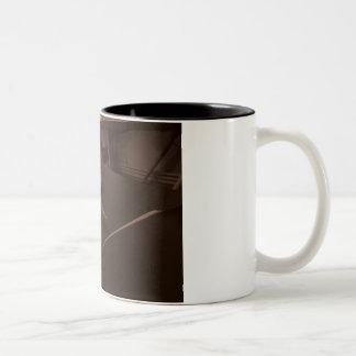 taza de la foto de la pluma de la oficina